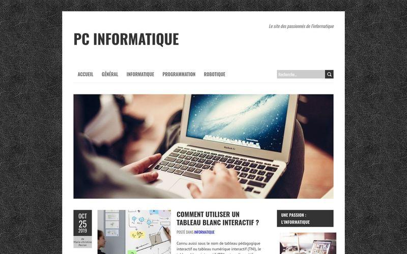 PC informatique - Le site des passionnés de l'informatique