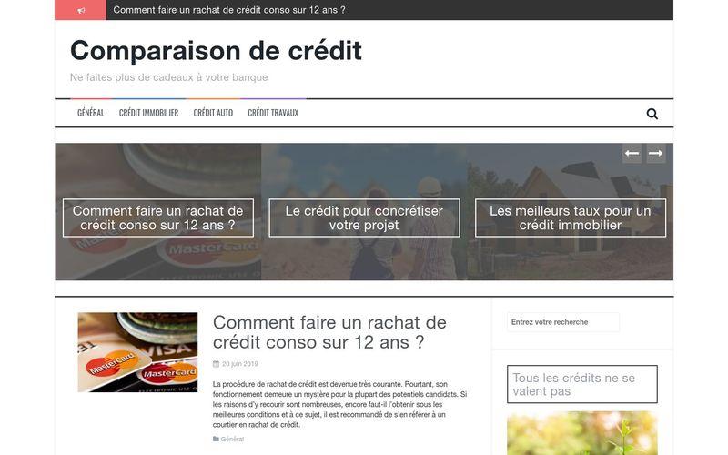 Comparaison de crédit - Ne faites plus de cadeaux à votre banque