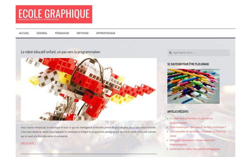 Ecole graphique - Pédagogie, Méthode et Apprentissage