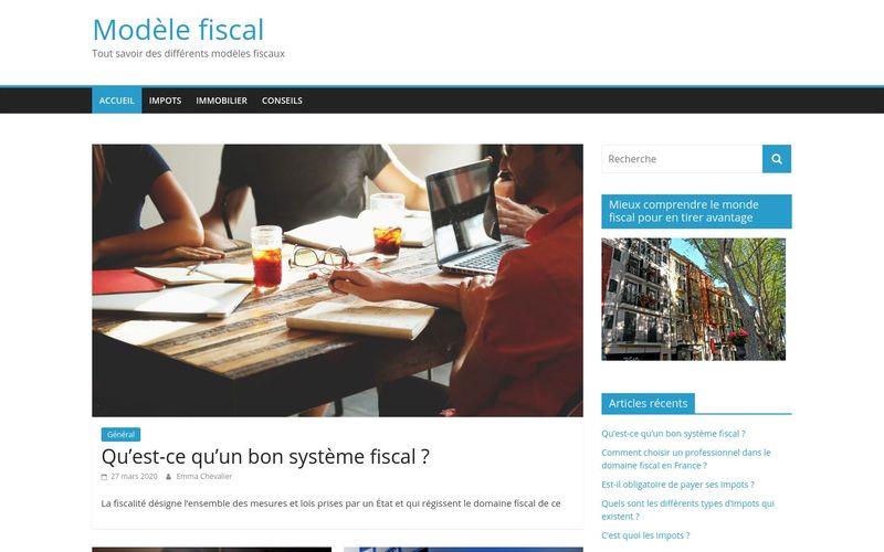 Modèle fiscal - Tout savoir des différents modèles fiscaux